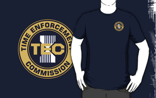 """Time Enforcement Commission 2004 Logo"" T-Shirts & Hoodies by Christopher Bunye 