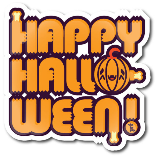 Happy Halloween logo by Chobopop on Flickr.