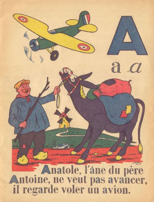 Ooh la la - Retro French alphabet for les enfants