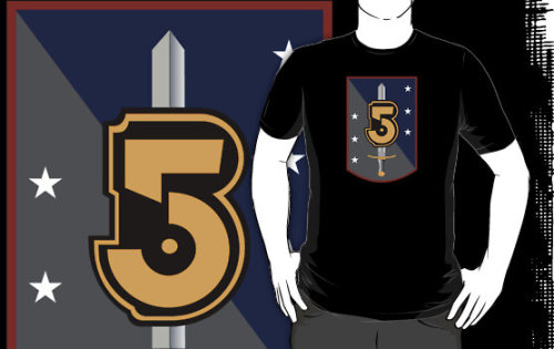 """Babylon 5 Army of Light Large Logo"" T-Shirts & Hoodies by Christopher Bunye 
