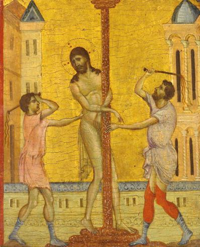 """"""" Cristo obligado a ejercer de stripper """" (La banda di proxeneti cruelli) Giovanni Cimabue"""