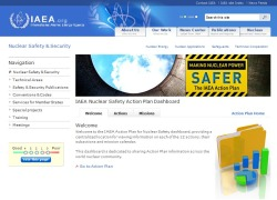 Today, the IAEA launched an interactive website devoted to the implementation of its nuclear safety action plan. It's an interesting and useful tool.