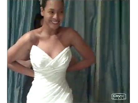Beyoncé Reveals Her Wedding Gown - People