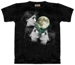 THREE WOOLF MOON  amazing submission from offonarocketship keep 'em coming! and we are interested in making these t-shirts a reality! if you know how to do that askbox us or email us @ humorlessfeminists@gmail.com