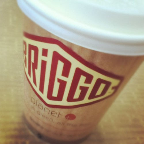 Briggo coffee is a pretty cool concept. (Taken with instagram)