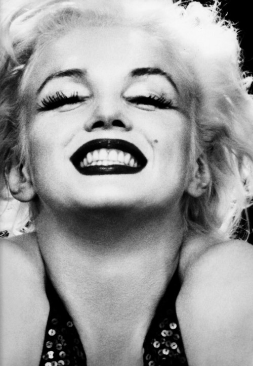 Marilyn Monroe photographed by Richard Avedon, 1957.