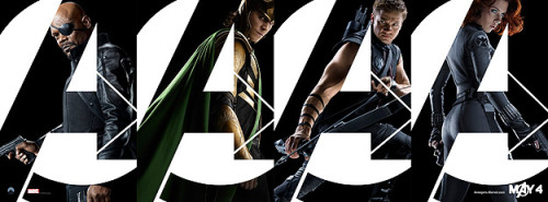 Here's the second group of new posters for The Avengers. Tell us what you think on MORE's Facebook page.