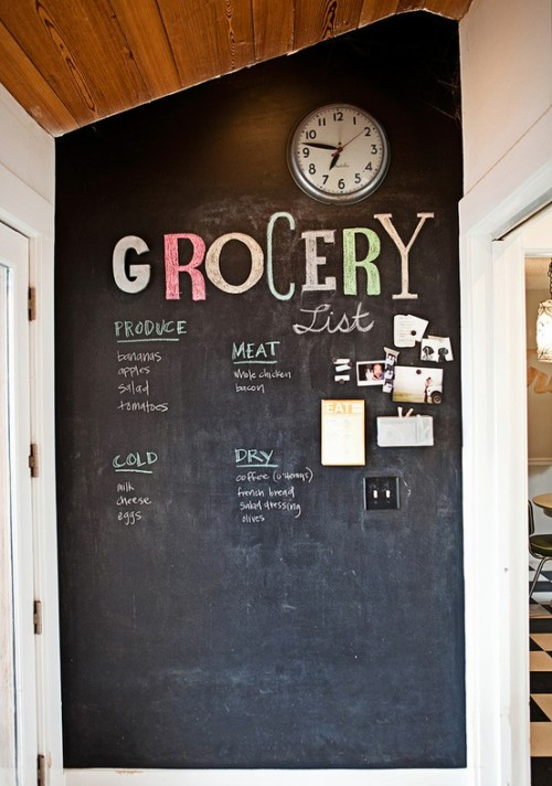 Decorations & Decor Chalkboard wall