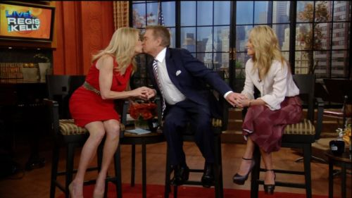 Kathie Lee Gifford assures Regis they never had sexual tension.