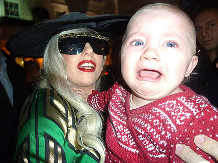 Don't worry kid. We all feel this way about Lady Gaga sometimes. - J