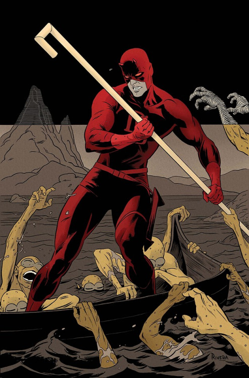 comicartappreciation:  Daredevil #9 // Paolo Rivera