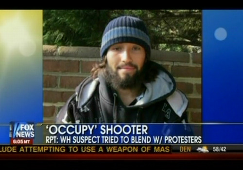 "dropfox:  Fox News falsely dubs alleged White House attacker as ""'Occupy' Shooter"" Fact: Investigators have reportedly ""found no connection between him and the Occupy protestors.""  really fox newsssss"
