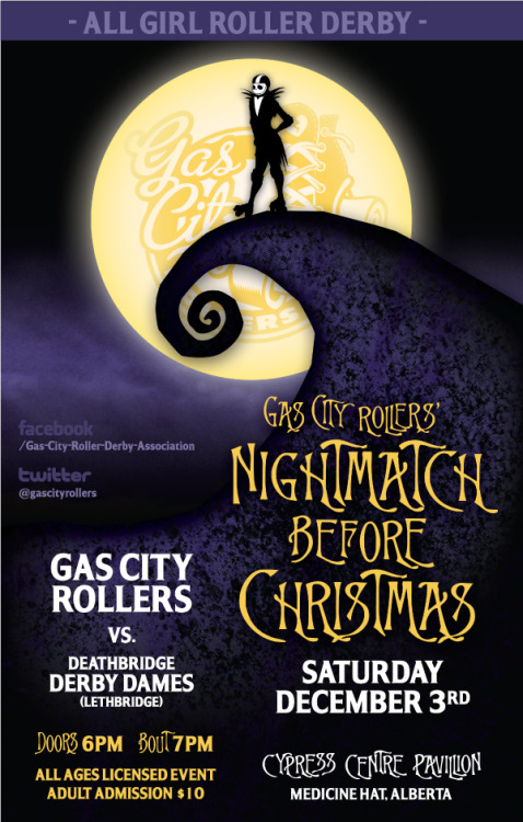 Mark your calendars, another Gas City Rollers bout is coming up, December 3rd. Rapscallion will be there in full force with lots of great gifty goodies. For more info visit gascityrollers.com