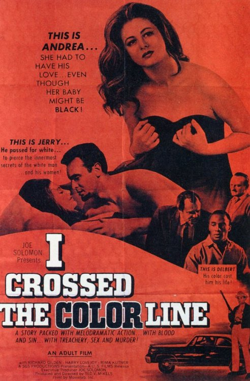 i crossed the color line (the black klansman), 1966