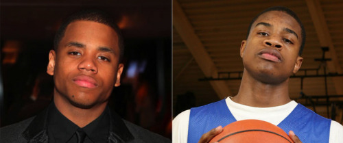 Tristan Wilds (Michael on the Wire and Dixon on 90210) sure resembles Arizona Wildcats forward Kevin Parrom.