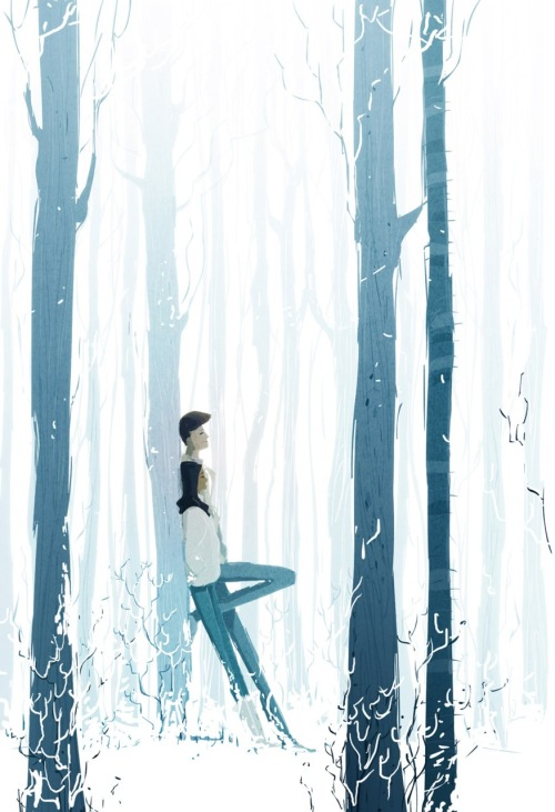 The sound of silence by PascalCampion More than that, it is the sound of peaceful bless. The amazing depth of his art has feelings in them that's so well expressed~