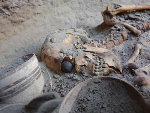 rayraymoo:  archiemcphee:  Here's an awesome little piece of history: Archaeologists in the Burnt City have discovered what appears to be an ancient prosthetic eye. What makes this discovery exceptionally awesome is the striking description of how the owner and her false eye would have appeared while she was still alive and blinking:  [The eye] has a hemispherical form and a diameter of just over 2.5 cm (1 inch). It consists of very light material, probably bitumen paste. The surface of the artificial eye is covered with a thin layer of gold, engraved with a central circle (representing the iris) and gold lines patterned like sun rays. The female remains found with the artificial eye was 1.82 m tall (6 feet), much taller than ordinary women of her time. On both sides of the eye are drilled tiny holes, through which a golden thread could hold the eyeball in place. Since microscopic research has shown that the eye socket showed clear imprints of the golden thread, the eyeball must have been worn during her lifetime. The woman's skeleton has been dated to between 2900 and 2800 BCE.   So she was an extraordinarily tall woman walking around wearing an engraved golden eye patterned with rays like a tiny sun. What an awesome sight that must have been. [via TYWKIWDBI]  See, stuff like this just makes me want to write. Like, this lady sounds like a character from a novel