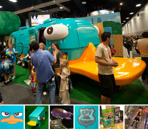 (via Phineas and Ferb Platy-bus at SDCC (NOTCOT))
