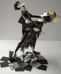 Tango (paper art) by Sher Christopher