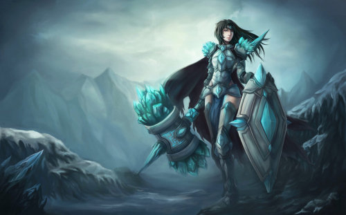 icoffeeprince:  Female Taric by ~Showmeyourmoves