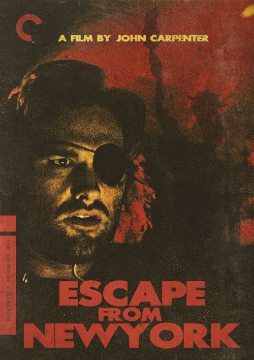 "Criterion Cover for John Carpenter's ""Escape from New York"""