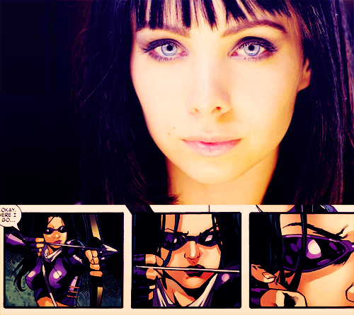 rachelelizabethdare:  MARVEL - DREAM CAST↳ KSENIA SOLO - KATE BISHOP\HAWKEYE