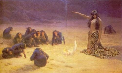 (via The Unknown by John Charles Dollman :: artmagick.com)