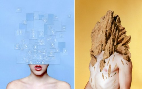 Class Research Assignment 3: HUMAN and NATURE Collages  (via Trendland)