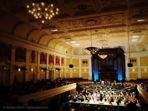 The Vector Wellington Orchestra tonight, with Anne Sofie von Otter. (Posted at interval!)