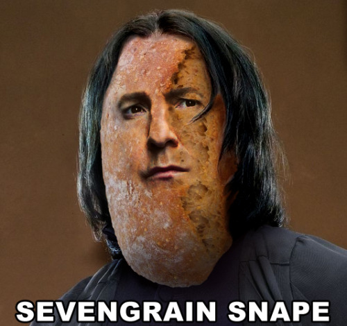 breadpeople:  Sevengrain Snape (Submitted by Damon)