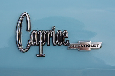chromeography:  1975 Chevrolet Caprice Convertible (by Randy von Liski)