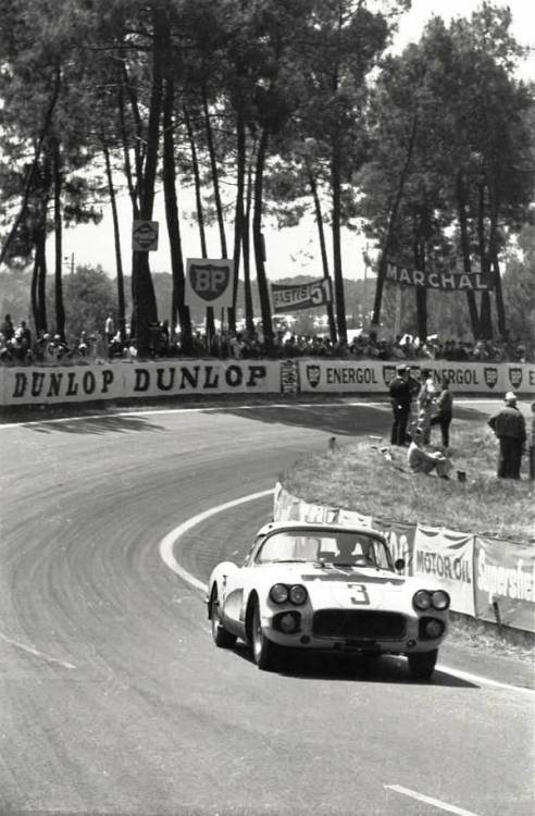 Corvette at Le Mans 1960