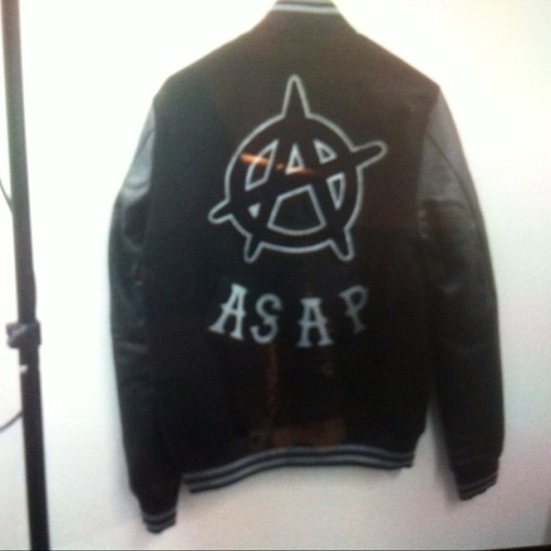A$AP VASITY JACKET , MEMBERS ONLY