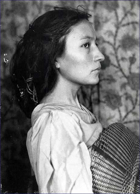 coolchicksfromhistory:  Portrait of Zitkala-Sa by Gertrude Kasebier, about 1898. Zitkala-Sa was the pen name of writer and activist Gertrude Simmons Bonnin (1876-1938).  She exposed the hardships faced by students at Native American boarding schools by writing about her own experiences as a student and as a teacher.  Zitkala-Sa also published a book of tribal folklore called Old Indian Legends and composed The Sun Dance Opera with composer William F. Hanson.  In 1930, Zitkala-Sa founded the National Council of American Indians, the first trans-tribal Native American organization to lobby the government for better treatment of Natives.  A selection of Zitkala-Sa's writings can be read online here. An analysis of Gertrude Kasebier's portraits of Zitkala-Sa can be read here.