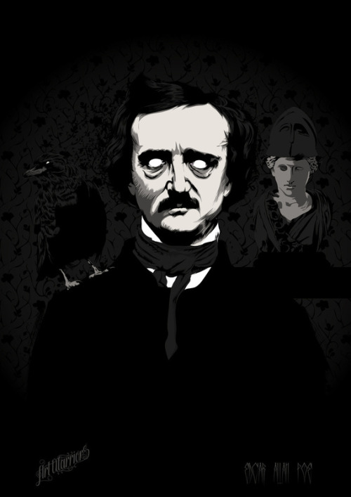 fer1972:  Edgar Allan Poe by Art Warriors