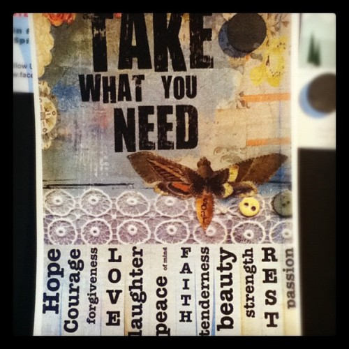 Love this sign in a Texas @Starbucks  (Taken with instagram)