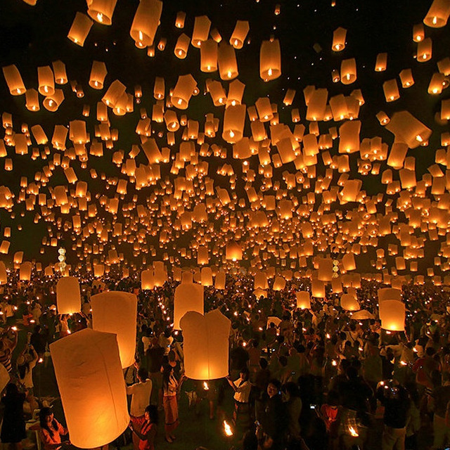jaymug:  Sky Lantern Festival Taiwan  I hope to one day be in Taiwan so I can witness this in person