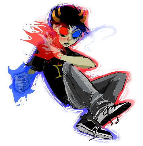 I like drawing Sollux.