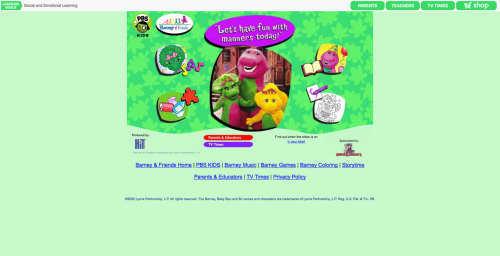 Pbskids.org  This site could actually be a lot worse.  email treasure to amandalynferri@gmail.com