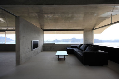 A Bond living room.