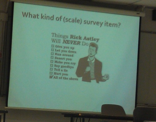 (via So my teacher rick rolled my class today…survey style! - Imgur)