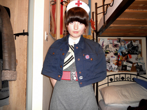 What I wore to school today, for children in need. I love fancy dress, and getting funny looks in Sainsburys.