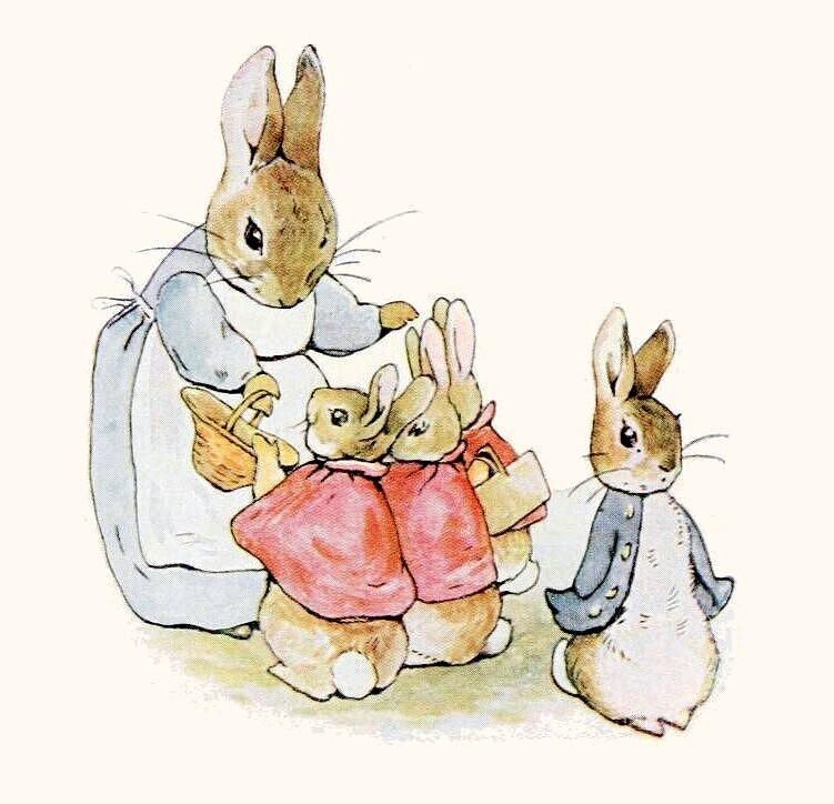 Pierre Lapin (Peter Rabbit) Beatrix Potter
