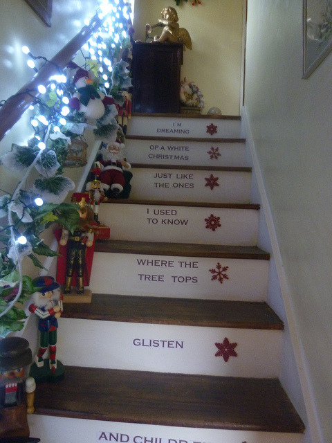 christmas stairs 2011 by seaside.girl48 on Flickr.