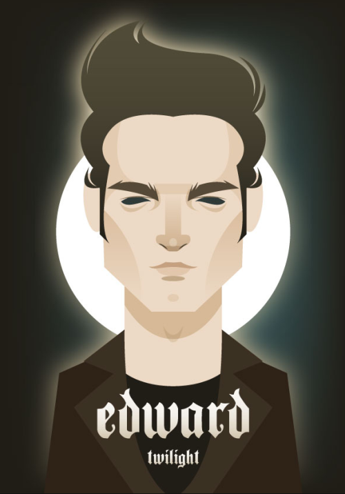 @stan_chow's tribute to Edward Cullen. The latest installment in the Twilight series, Breaking Dawn: Part 1 opens today!