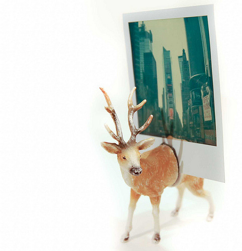 DIY FOR POOR PEOPLE: diy photo holder from a deer toy
