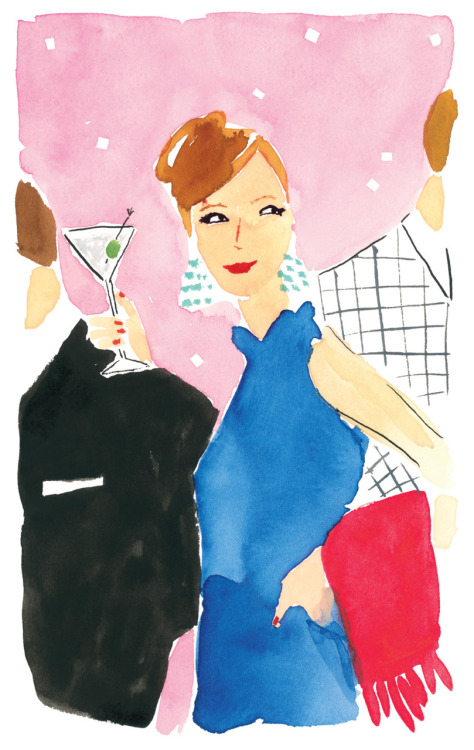 katespadeny:  brava bella! we love this watercolor by bella foster—take a peek at her portfolio