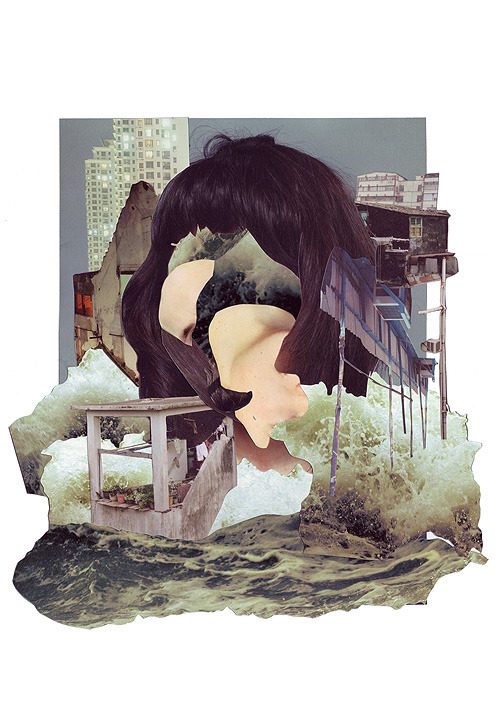 Really inspired by layering and collage right now. (via Ashkan Honarvar) <3 ModStylist Nicole Need styling suggestions, trend tips, or dress details? Ask a ModStylist and your question might be featured on our feed!