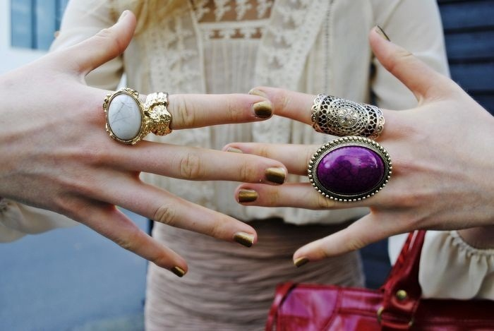 Love those rings..
