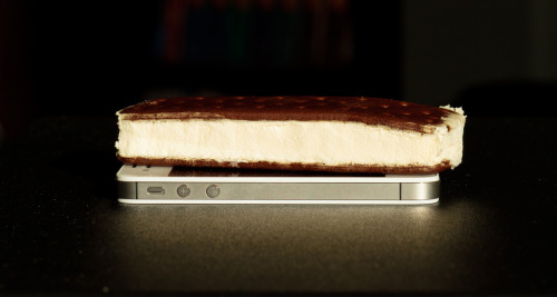 whltexbread:  ice cream sandwich You guys I put Ice Cream Sandwich on my iPhone 4S.  Man… I would fuck Steve Jobs' corpse for a Klondike bar right now.